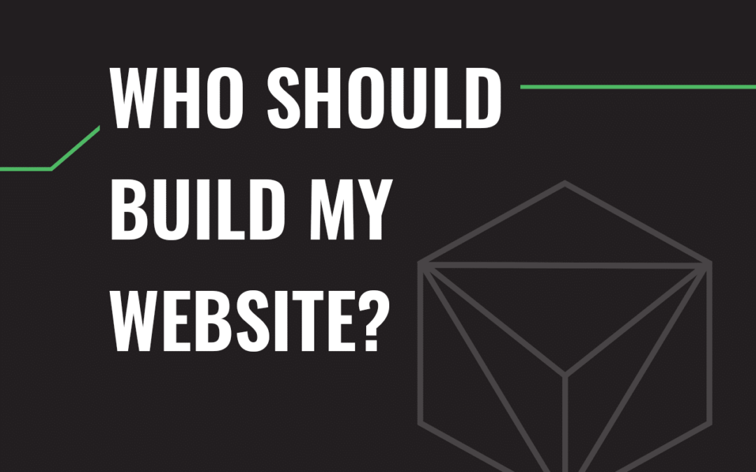 Who Should Build My Website?