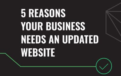 5 Reasons Your Business Needs an Updated Website
