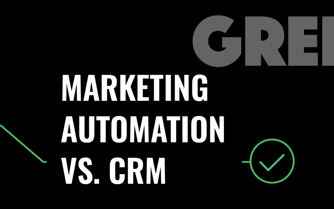 Marketing Automation vs. CRM